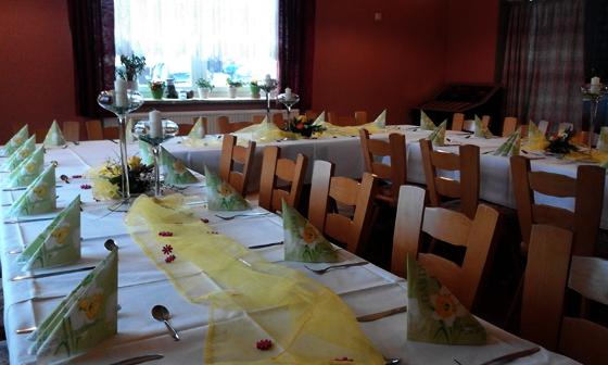 Veranstaltungen, Profen, Elsteraue, Gasthof, Festsaal, Familienfeier