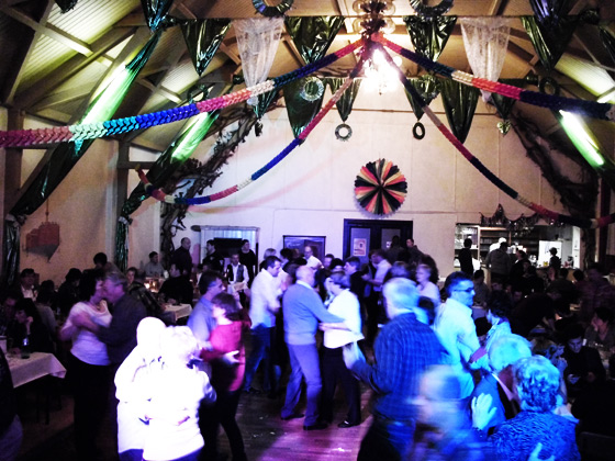 Party, Disco, Silvester, Profen, Zur Eiche, Saal