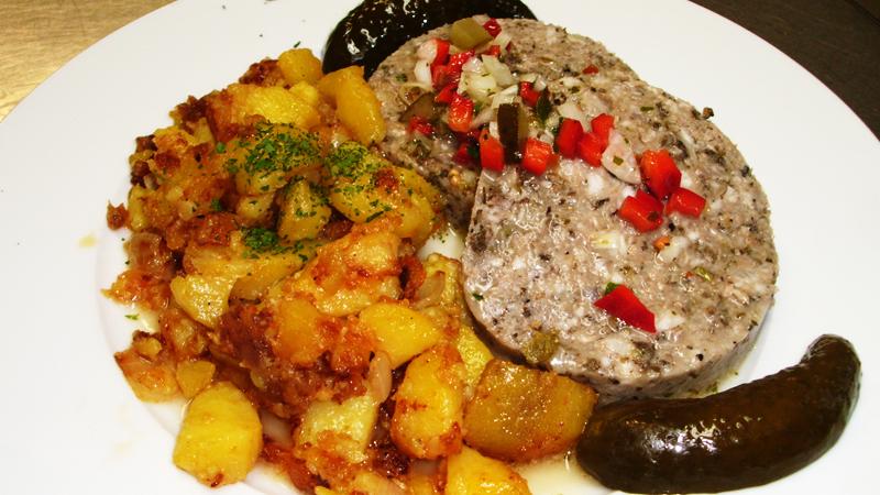 Sülze, rusikal, Tagesgerichte, vegan, vegetarisch, Schnitzel, Würzfleisch