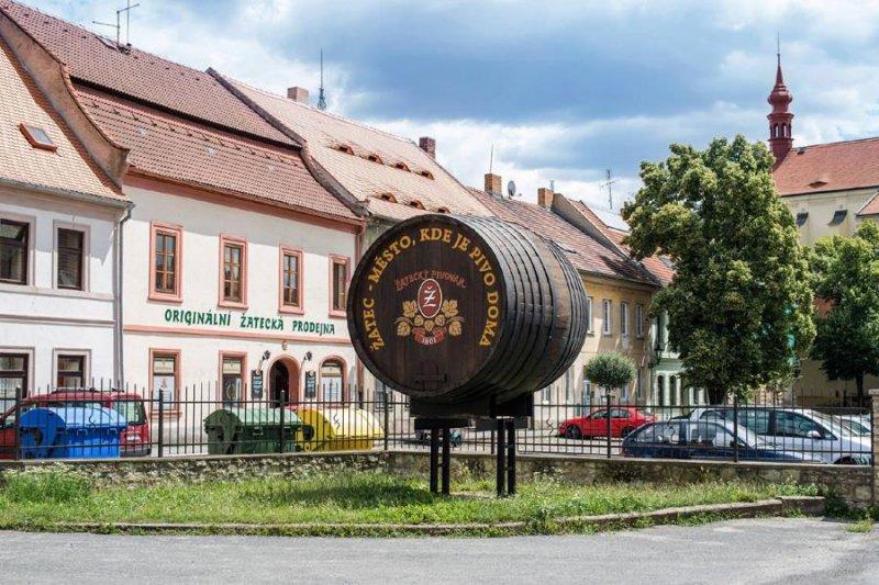 Žatec, Brauerei, Biermuseum, Bier, böhmisch, tschechisch, Saaz, Hopfen