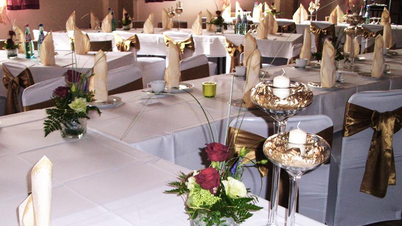 Hochzeit, Klassentreffen, Schulanfang, Jugendweihe, Buffet, Plattenservice