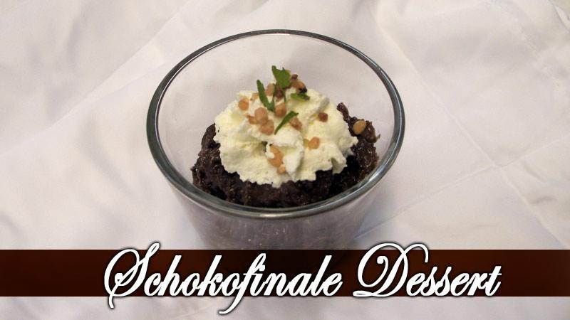 Dessert, Schokodessert, Schokocremé, Zur Eiche, Elsteraue, Gaststätte, Restaurant